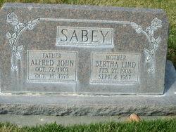 Alfred John Sabey