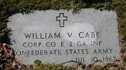 Corp William V. Cabe