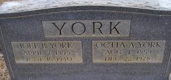 Octia A. <i>Grisham</i> York