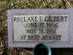 Rev Lake E. Gilbert