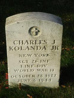 Sgt Charles J Kolanda, Jr