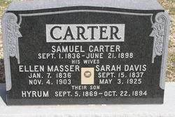 Ellen <i>Masser</i> Carter