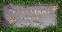 Christie A. Brown