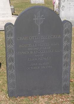 Charlotte Bleecker <i>Luce</i> Noyes