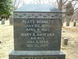 Mary E. <i>Hanford</i> Bennett