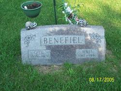 Jewell Evelyn <i>Wantland</i> Benefiel