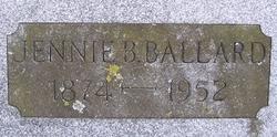Jennie Bell <i>Thurston</i> Ballard