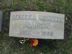 Rebecca <i>McNeely</i> Allison