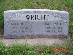 Josephine Cook <i>Saunders</i> Wright