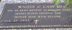 Waitus C. Cain, III