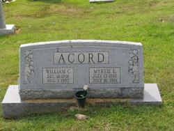 William Commadore Acord, Sr
