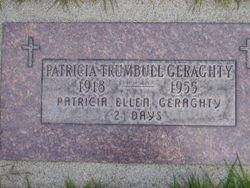 Patricia Anne <i>Trumbull</i> Geraghty