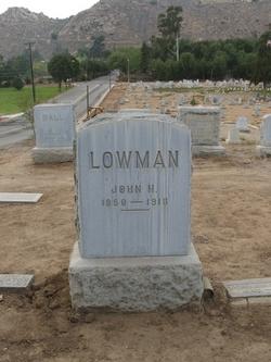 John H. Lowman