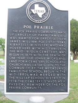 Poe Prairie Cemetery