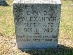 Emma Ophelia <i>Grimes</i> Alexander