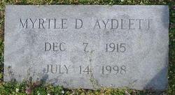 Myrtle D. Aydlett