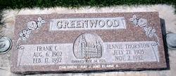 Jenny Pearl <i>Thornton</i> Greenwood