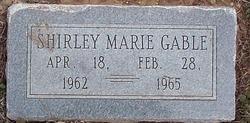 Shirley Marie Gable