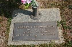 Sgt Robert Stephen Thompson, Sr