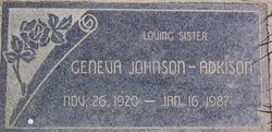 Geneva P <i>Johnson</i> Adkison