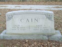Lillie Lee <i>Coble</i> Cain