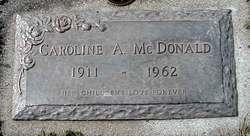 Caroline Augusta McDonald