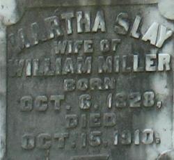 Martha <i>Slay</i> Miller