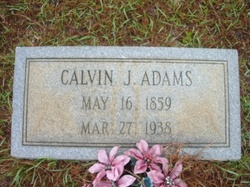 Calvin Jesse Cal Adams