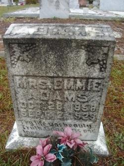 Lucinda Emma Emmie <i>Beaty</i> Adams
