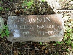 Warner B Clawson