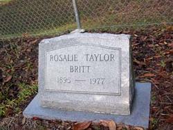 Rosalie <i>Taylor</i> Britt