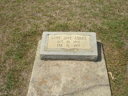 Mary Jane Adams