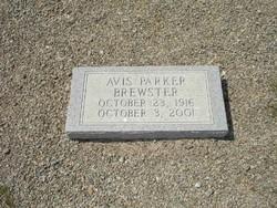 Avis <i>Parker</i> Brewster