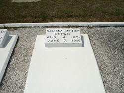 Melissa <i>McTier</i> Brown