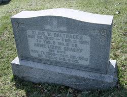 Annie Lizzie <i>Graef</i> Balthaser
