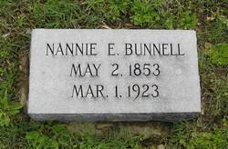 Nancy Nannie <i>Easley</i> Bunnell