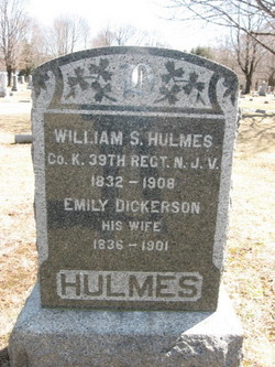 Emily <i>Dickerson</i> Hulmes