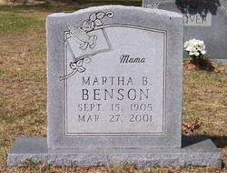 Martha B. Benson