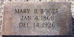 Mary B. Boger