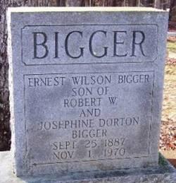 Ernest Wilson Bigger