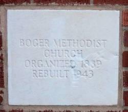 Bogers Chapel United Methodist Church Cemetery