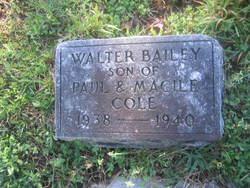 Walter Bailey Cole