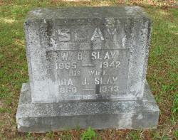 Ida J <i>Polk</i> Slay