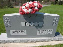 Virginia <i>Rimer</i> Beck