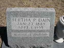 Bertha Pearl <i>Platt</i> Dain