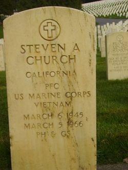 PFC Steven A. Church