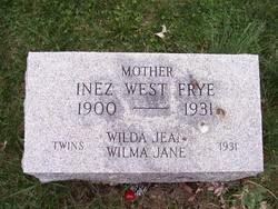Inez <i>West</i> Frye