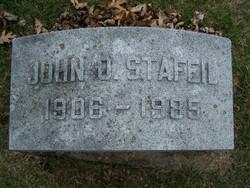 John O Stafeil