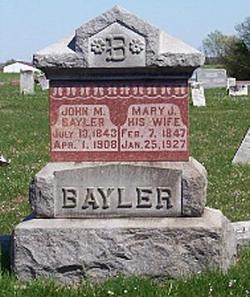 Mary Jane <i>Stanford</i> Bayler
