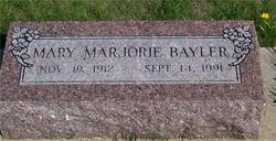 Mary Marjorie Bayler